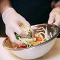 Disposable Plastic  Kitchen  TPE glove  1