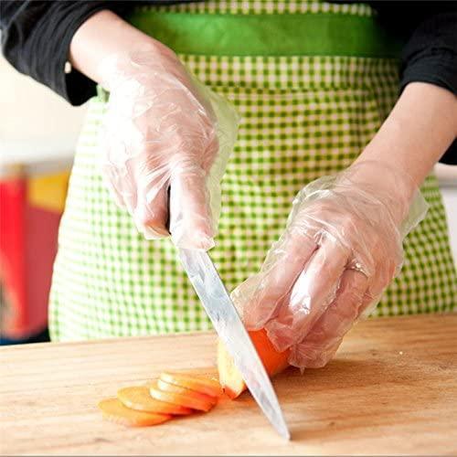 Disposable Plastic  Kitchen  TPE glove  2