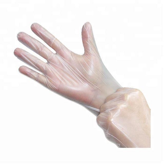 Disposable Plastic  Kitchen  TPE glove  5