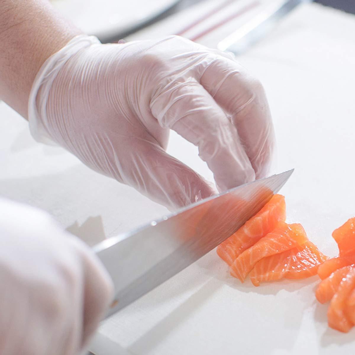 Disposable Plastic  Kitchen  TPE glove  6