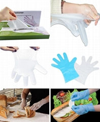 Disposable HYBRID TPE Glove (Hot Product - 1*)