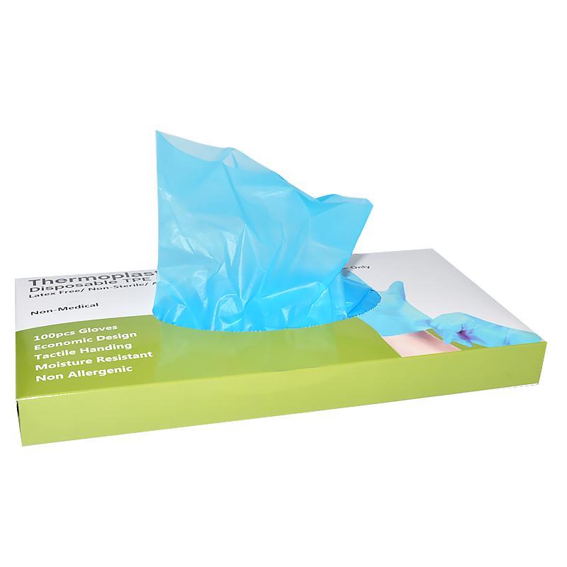 Disposable Plastic TPE Gloves  2