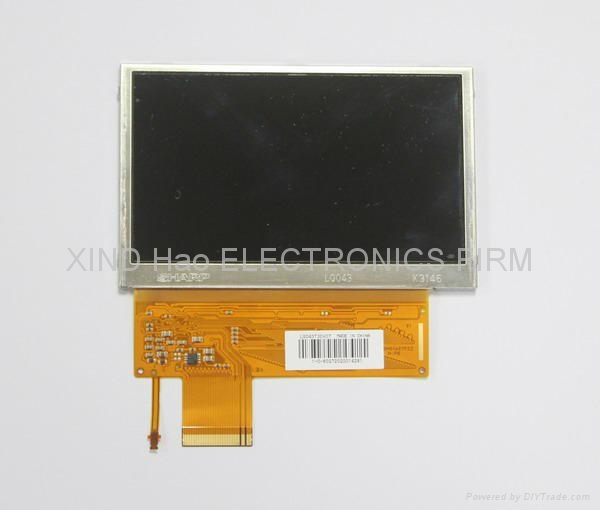 High quality NEW Game E1004 LCD Screen For PSP Street 3