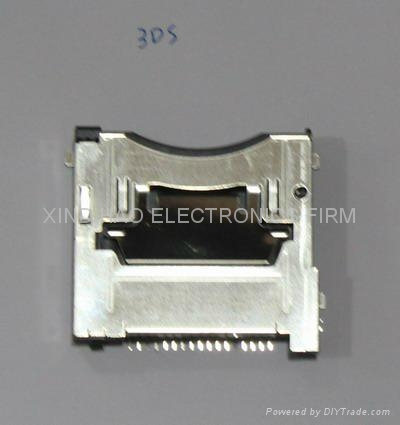 Game repair part for original new Game socket ports charge 3ds 4