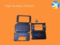 For game 3DS XL shell black part with high quality