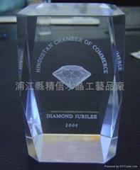 crystal 3d laser