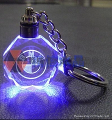 水晶钥匙扣