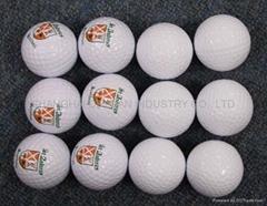 Floating golf ball