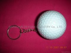 高爾夫球鑰匙扣