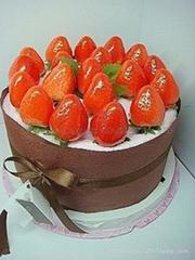 草莓超大生日蛋糕