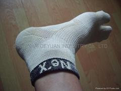 Bamboo two toe socks