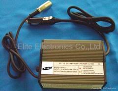 HP812(24V/36V 1.5A) car-carry charger