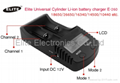 Elite Universal Cylinder Li-ion battery charger