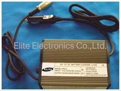 HP812  24V/36V 1.5A  car-carry charger