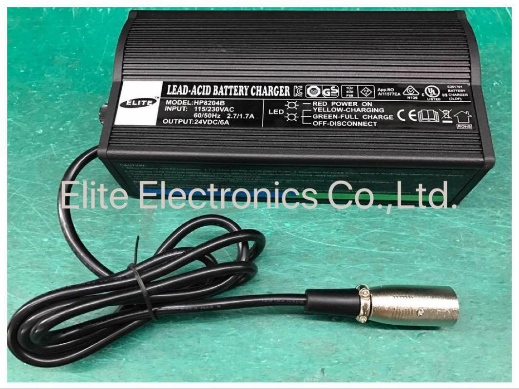 HP8204B 24V/5A Lead Acid Battery Charger  1