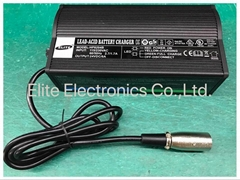 HP8204B 24V/5A Lead Acid Battery Charger for e-bike&power wheelchair & e-scooter (Hot Product - 1*)