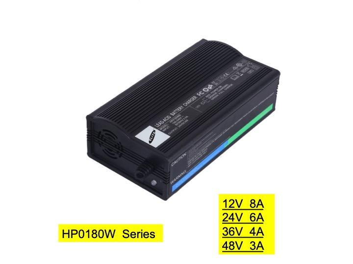 HP0180WB 24V/5A Lead acid  charger for wheelchair & ebike& escooter&forklift 1