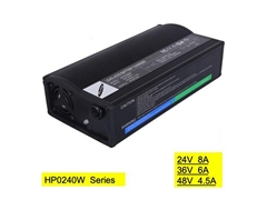 HP0240WB 24V8A Lead acid battery charger for e-bike & power wheelchair  escooter