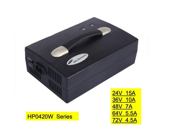 HP0420BF 24V15A Lead Acid Battery Charger for ebike& wheelchair& escooter 1