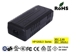 HP1202L3(10S) 36V3A  electric bike battery chargers with CE,UL(3A),FCC