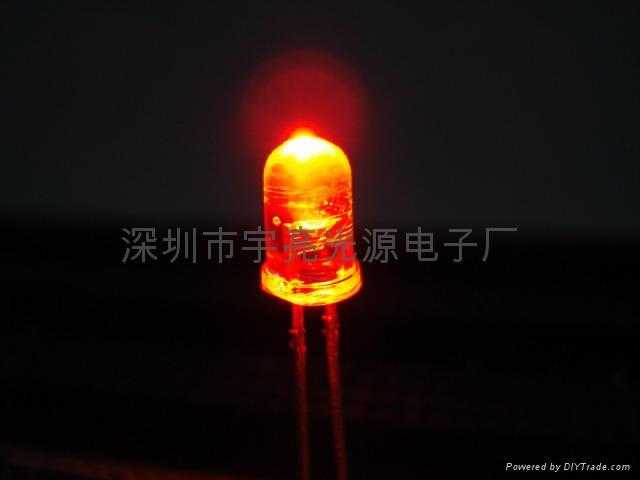 光電鼠標專用5MM紅光LED發光二極管 1