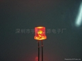 5MM平頭紅色美人魚LED發光