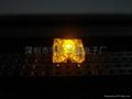 3MM黃色食人魚LED發光二極