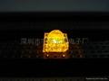 3MM黃色食人魚LED發光二極管 2