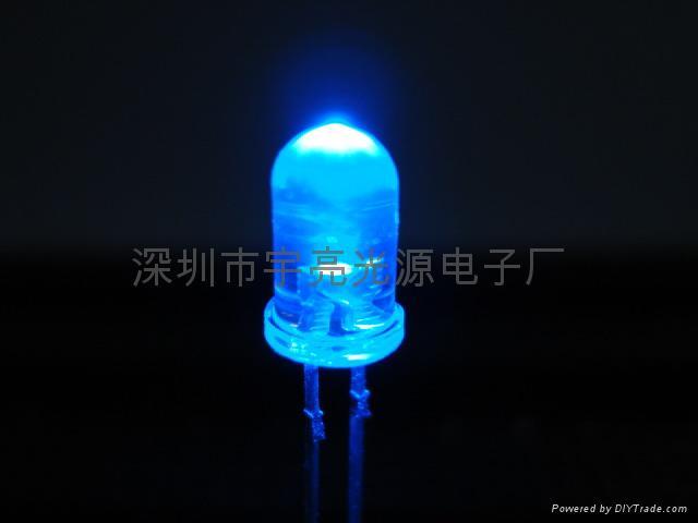 光电鼠标专用5MM红光LED发光二极管 2