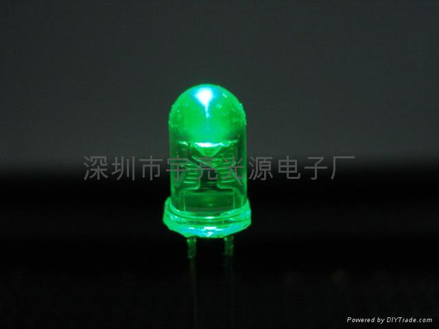光电鼠标专用5MM红光LED发光二极管 3