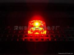 麵包型食人魚紅色LED發光二極管