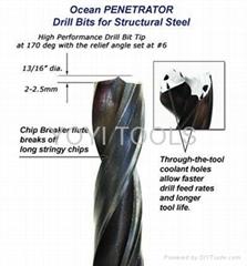 ocean penetrator drill bits