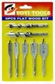 7pcs wood drill set
