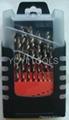 25pcs drill set