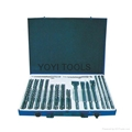 37pcs sds drills and chisel set