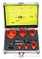 9pcs hole saw set