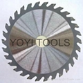 tct saw blade for steel