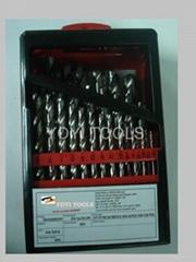 29pcs hss drill bit in metal box
