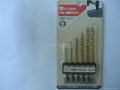 6pcs hex shank drill set