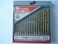 15pcs hex shank drill set
