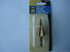 hss step drill bits