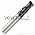 for aluminum alloy processing end mill