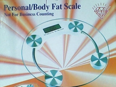 body/fat scale