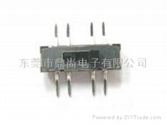 Mini Slide Switch 2P3T SMT