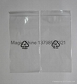 clear zipper bag