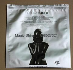 laminated ziplock bag