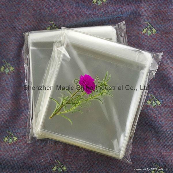 超透明OPP自粘袋可裝食品用 4
