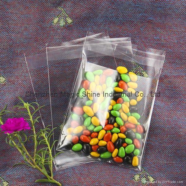 超透明OPP自粘袋可裝食品用 1