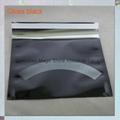 Black foil poly mailer 9x12.75 inch
