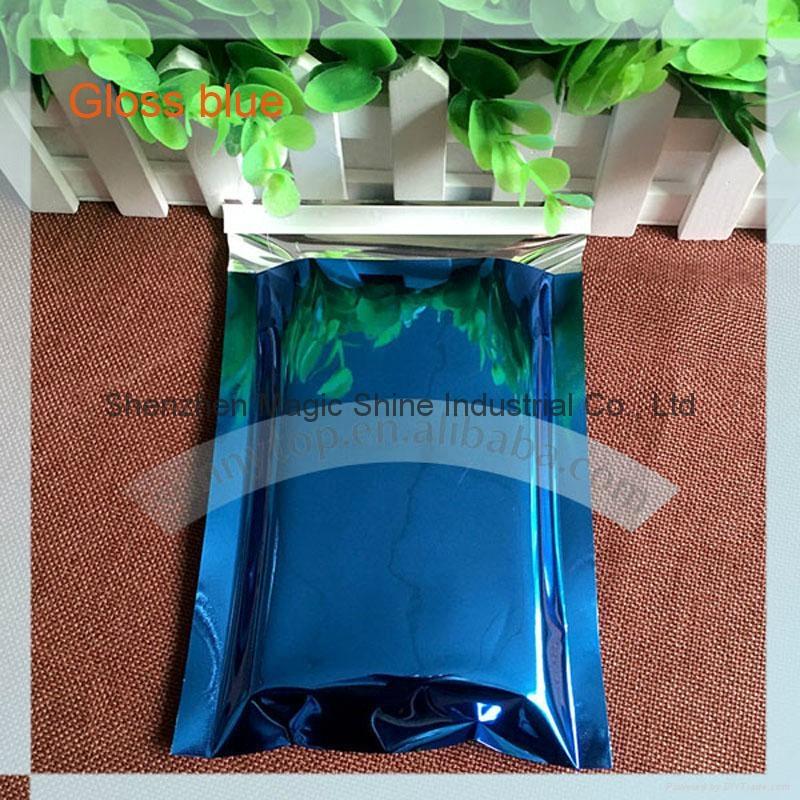 蓝色镀铝袋9x12.75 寸 1
